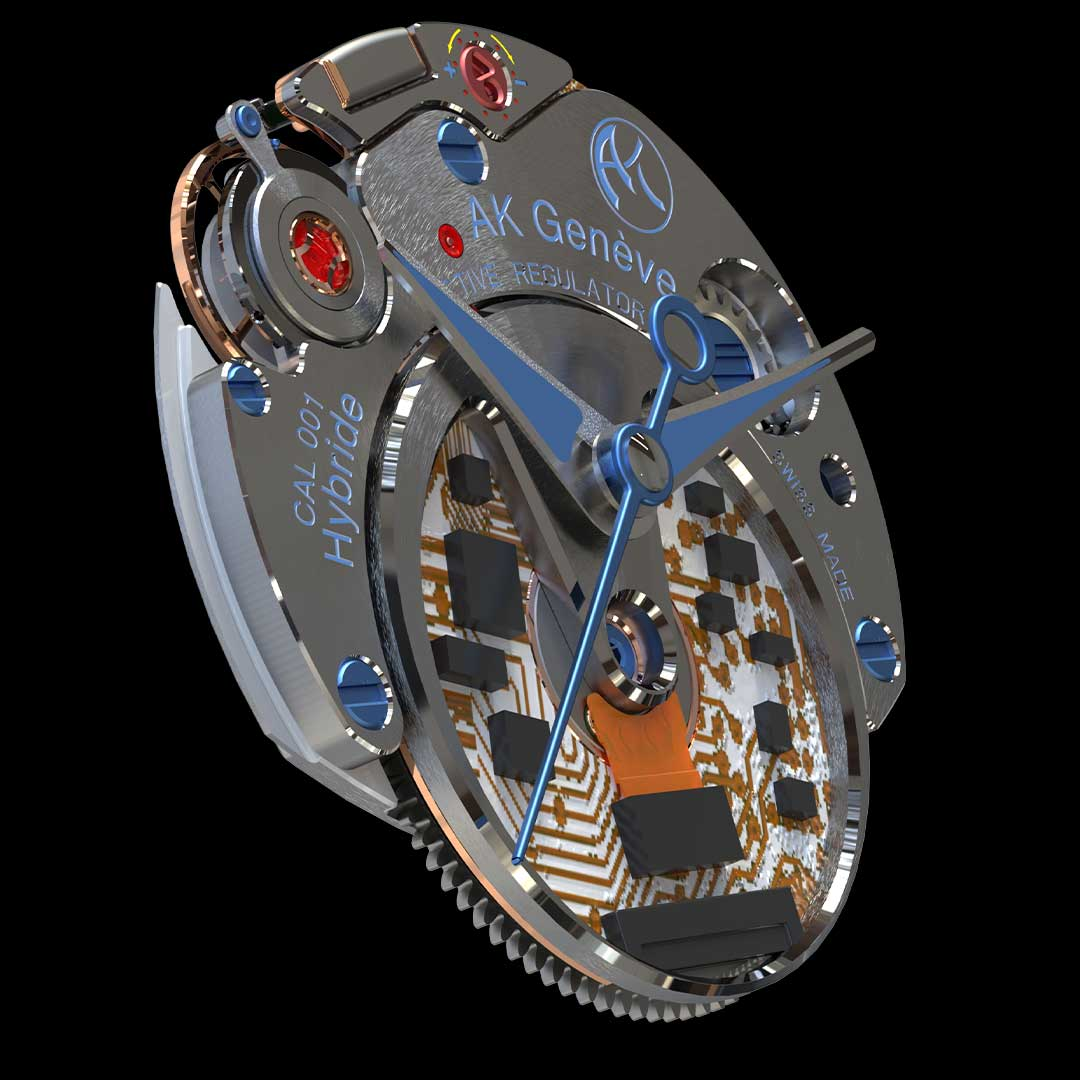 First hybrid caliber in watchmaking