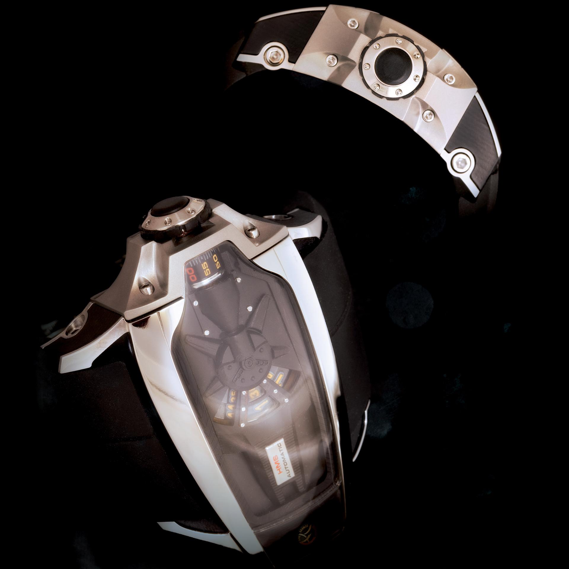2 watches WARP AK Genève